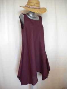 via Eco-Friendly garments handmade for you on Etsy Chyba ze skosu Bohemian Maternity, Maternity Patterns, Bias Cut Dress, Boho Dress, Pretty Outfits, Dress Making, Minimalist Closet, Advanced Style, Simple Shapes