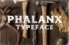 Phalanx free font LIMITED TIME by Mark Richardson Behance