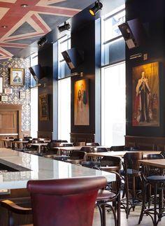 LONDON JACK #surmesure #lusine #londonjack #quebec #restaurant #pub