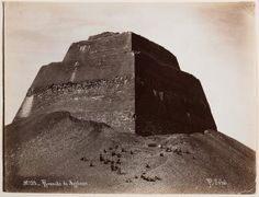 Pyramid of Sneferu at Meidum, Egypt