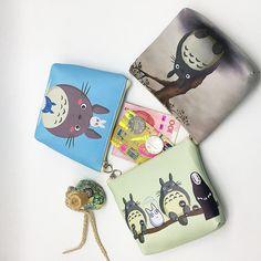 Totoro Money Wallet //Price: $8.99 & FREE Shipping //     #studioghibli