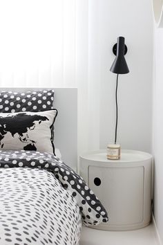 Kartell Componibili & Arne Jacobsen wall lamp