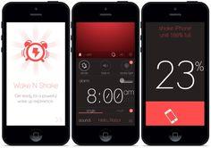 Wake N Shake dla iPhone'a czyli stylowy budzik, który nie tak łatwo wyłączyć http://myap.pl/ed