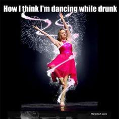 how i think i dance