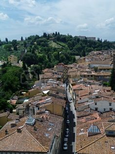 View of Florence from San Niccolò tower, Florence, Italy