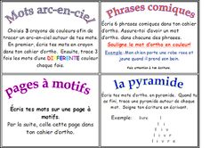 French Daily work on words ideas Source: Classe de madame Bernice: 5 au quotidien Daily 5 Activities, Word Work Activities, Spelling Activities, Vocabulary Activities, Language Activities, Teaching French, Teaching Writing, Teaching Ideas, Literacy Cafe