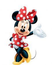 Minnie Mouse Cardboard Cutout - 107cm (each)  CUTO006