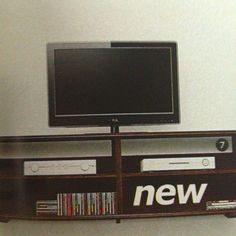 Our new TV stand from IKEA!