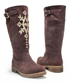 Dark Brown Barbie Boot