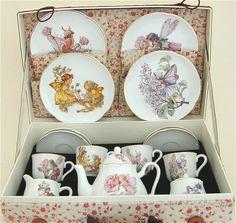 Flower Fairy Childs Tea Set  ww.childs-tea-set.com