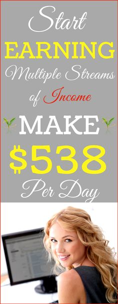 Who doesn't love making extra money? The best ways to make passive income online and Top Residual income ideas that could earn you thousands of dollars each Day ! Work from home and Make money online! Earn $538 Per Day! Click the Pin to see how >>>