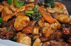 COMIDINHAS       FÁCEIS: Pedaços de peito de frango com shoyu e gengibre