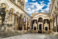 Beautiful Wonders Of Croatia | Palace of Dioclecian, Split