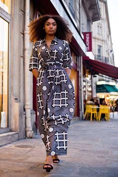 Mode Africaine PagneInspi LongueEn Robe Chemise yYvf76bg
