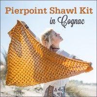 Pierpoint Shawl Kit | InterweaveStore.com