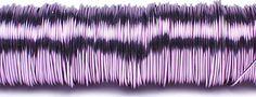 Decodraad gelakt lavendel http://www.bissfloral.nl/blog/2014/07/12/decodraad-gelakt-lavendel/