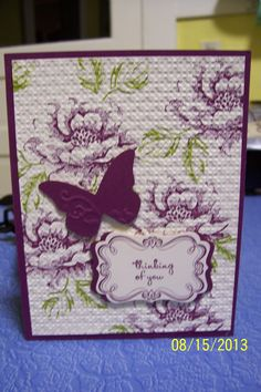 Stampin' Up Stippled Blossoms