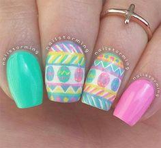 Diseños de Uñas de Gel para Pascua 9