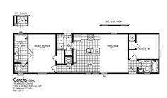 Oak Creek 5602 Floorplan