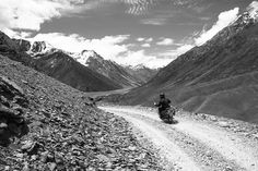 At times you can't believe that such a place can exist on our planet. It's like being on the moon, the landscape is astounding. The roads, the scenery, your new friends, your 500cc Royal Enfield Bullet... if Carlsberg did motorbike adventures....