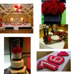 Red sweet 16 ideas