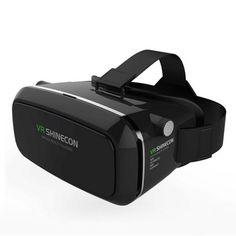 แนะ<SP>VR SHINECON แว่นตา 3 มิติเสมือนจริง++VR SHINECON แว่นตา 3 มิติเสมือนจริง สายรัดศรีษะสามารถปรับได้ เพื่อให้สอดคล้องกับขนาดของศรีษะ และไม่หล่นขณะที่ใช้งาน ฟ้องน้ำบริเวณทีครอบตา เพื่อให้ใช้งานได้ต่อเนื่องโดยไม่ปวดเมื่อย เลนส์ Aspheric ปรับร ...++
