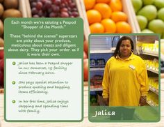 Congrats to Jalisa, our August 2012 Shopper of the Month!