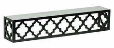 Lattice Ledge Black Moroccan Shelf Wall Display Wood Shelves Home Decor Black Wall Shelves, Wall Mounted Shelves, Wood Shelves, Floating Shelves, Ledge Shelf, Shelving, Moroccan Design, Moroccan Decor, Moroccan Style