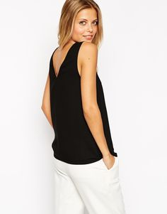 Image 1 of ASOS V Front And V Back Vest