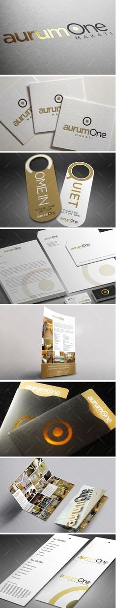 50 best Branding images on Pinterest   Corporate identity  Graph     Logo and application of logo on various items for a business hotel in  Makati