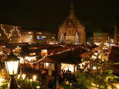 Nuremberga (Alemanha): Mercado de Natal