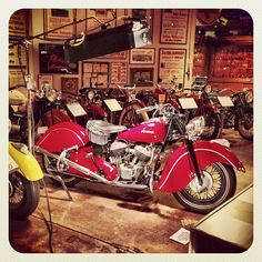 1948 Chief Indian Motorcycles