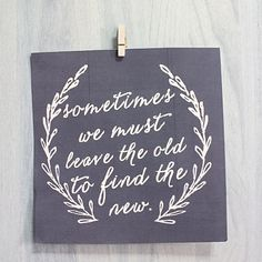 Dress up your walls with inspirational quotes!