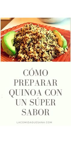 Como Cocinar How to Prepare Quinoa - The Food That Heals Quinoa Bites, Quinoa Salat, Quinoa Bowl, Quinoa Oatmeal, Quinoa Recipes Easy, Healthy Recipes, Healthy Meals, Healthy Food, Ceviche