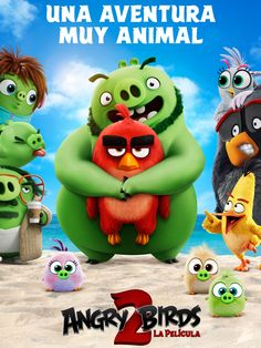 DVD 791.43 ANG (MEP 1514) Bill Hader, Angry Birds 2 Movie, Full Movies Download, Hd Movies, Hollywood, Film, Animals, Fictional Characters, Animation Movies