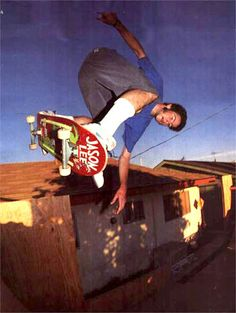 Jason Lee was a pretty cool skater before he became a pretty cool actor.