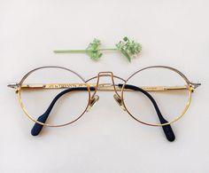 456f9d785528 Tiffany T-104 C1 23k gold plated luxury eyeglasses by Skomoroki Vintage  Glasses Frames
