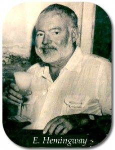 Hemmingway and his drink