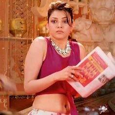 Kajal Aggarwal @Navel treat