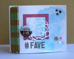 """Tutorial mini album """"#Fave"""""""