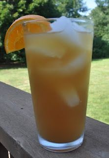 Had the Fruit Tea at Rick's BBQ in AL today, and had to go on Pinterest to find something like it!