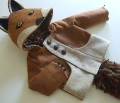 Fantastic Little Fox Coat: It's a child in fox clothing! Sizes 12mo - 6T. $150.