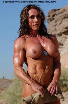 ELVIRA: Muscular women having sex pics