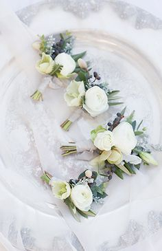 Soft Blue Wedding Inspiration - Inspired By This