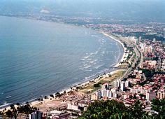 Praia do Centro, Caraguatatuba (SP)