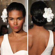 Billy Holiday inspired hair
