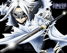 Allen from D. Gray-Man, being freaking epic