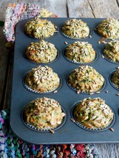 Grove muffins med ost, skinke og spinat Norwegian Food, Norwegian Recipes, Cheese Bread, Food For Thought, Tapas, Nom Nom, Cheesecake, Brunch, Food And Drink