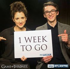 Game of Thrones: Ellie Kendrick and Isaac Hempstead Wright