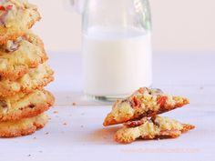 Cookies de bacon y chocolate - Chocolate bacon cookies